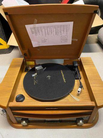 Gramofon z radiem