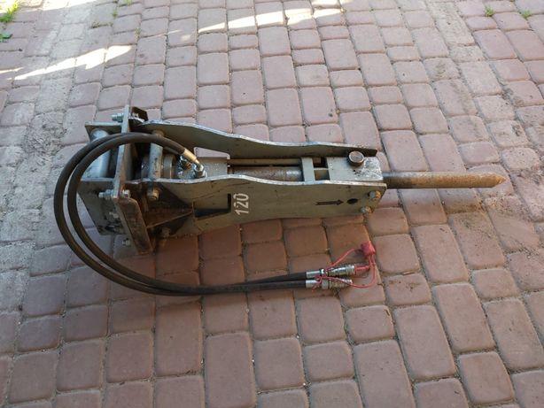 Młot hydrauliczny minikoparka