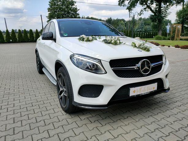 Auto do ślubu! Mercedes-Benz GLE Biały