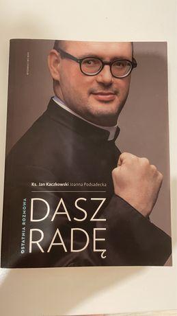 Ksiażka Dasz Radę Ks. Jan Kaczkowski