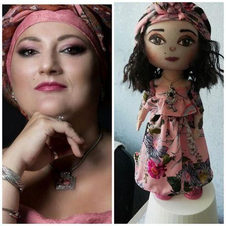 Портретные текстильные куклы на заказ.