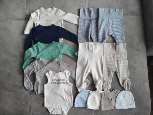 Комплект одежды для новорожденного ползунки боди распашонки шапочки