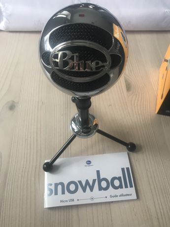 Mikrofon snowball  BLUE bonus pop filter