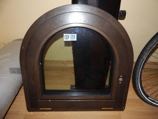 Okno drewniane dąb