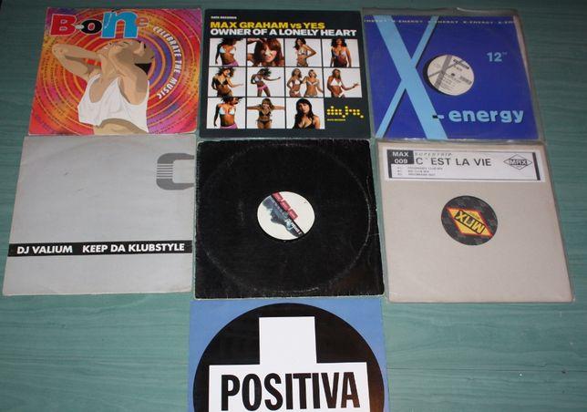 Płyty winylowe DJ, disco, pop, vinyl