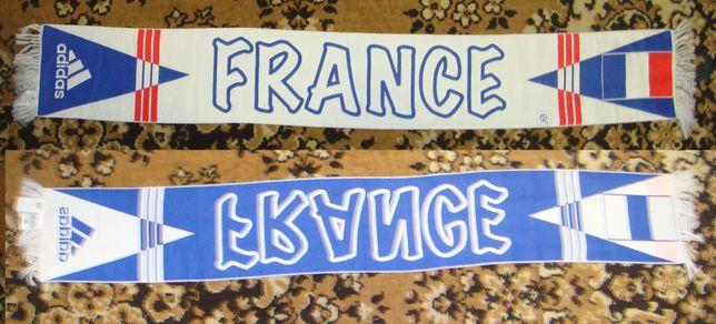 Футбольный шарф Adidas France