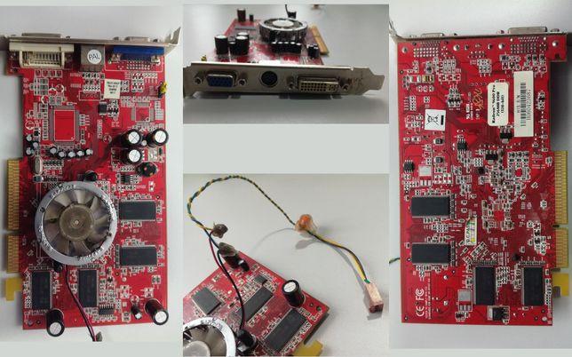 Видеокарта Radeon 9600 Pro 256mb 128bit