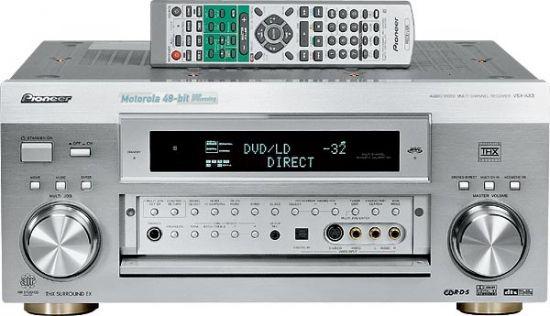 Pioneer VSX-AX3-S Multi-Channel 7.1 Audio Receiver