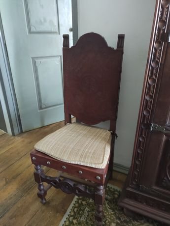 Cadeiras couro vintage