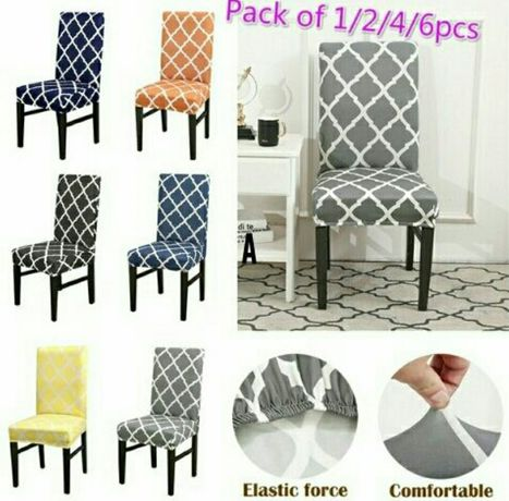 Nowe pokrowce na krzesła 12 kolorów do wyboru OKAZJA