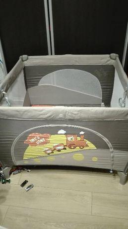 OKAZJA, kojec turystyczny, łóżeczko turystyczne baby design let's play