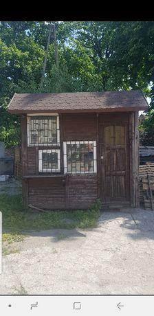 Kiosk pawilon domek drewniany