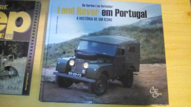 Livros land Rover/jeep willy/Chevrolet portugal