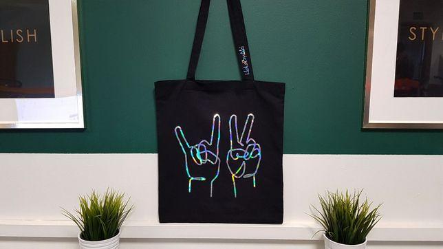 eko torba na zakupy / shopper / nadruk