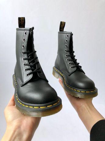 Ботинки оригинал! Dr.Martens 1460 BLACK NAPPA 11822002 размер37-47EUR
