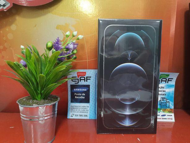 Iphone 12 pro max 128gb livre novo selado, temos loja