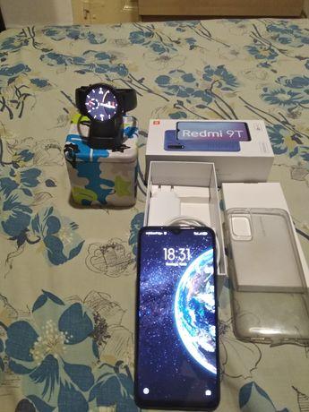 Redmi 9T 4/96gb + smartwatch