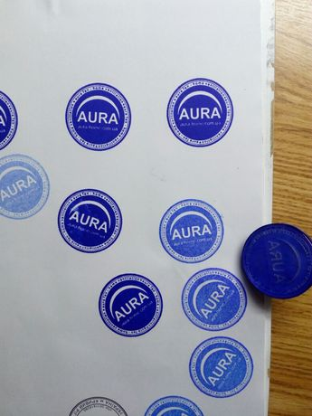 Печати и штампы с логотипом