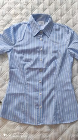 NOWA koszula błękitna w paski, Lambert r.34