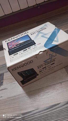 Radio Kenwood KVT-526 DVD 1din/2din wysuwane, stan Idealny, Bluetooth
