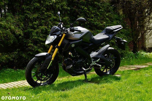 Yamaha MT MT 125 ccm, ABS, na kategorię B, zarejestrowana