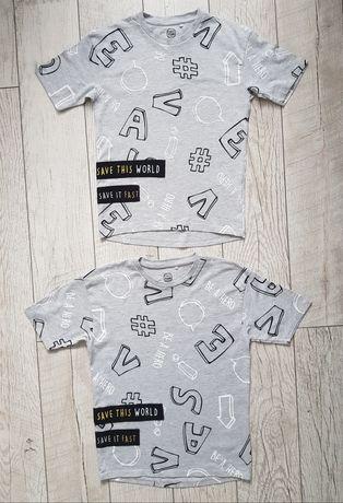 T-shirty CoolClub Smyk dla bliźniaków rozm. 134 i 140
