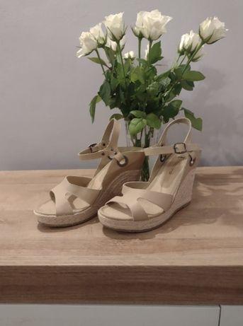 Sandały na koturnie / Koturny/ Sandałki 37 Taccardi