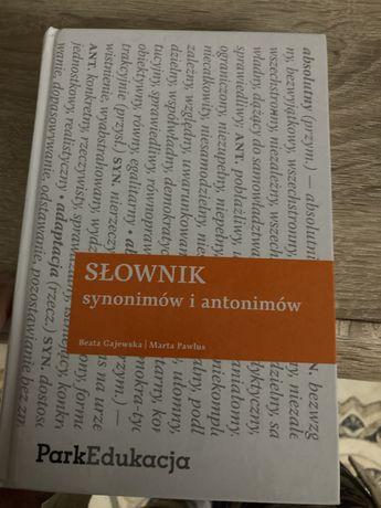 Slownik synonimow i antonimow