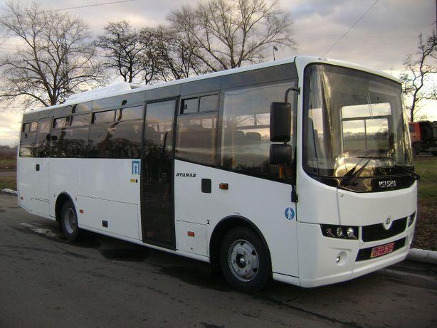 Новий міжміський автобус Атаман А09216
