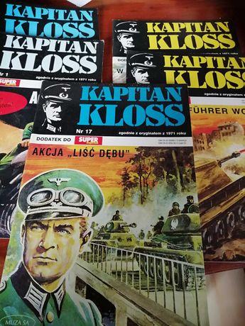 Komiks Hans Kloss kilka numerow