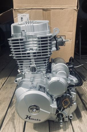 Двигатель, мотор на мотоцикл 125, 150, 175, 200, 250сс CGB, CBB
