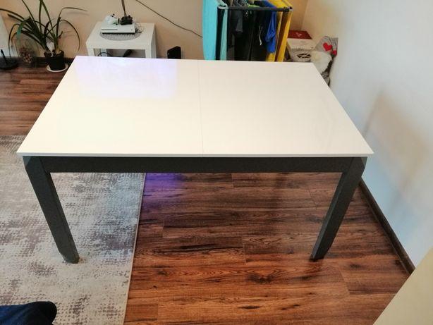 Stół rozkładany na wysoki polysk