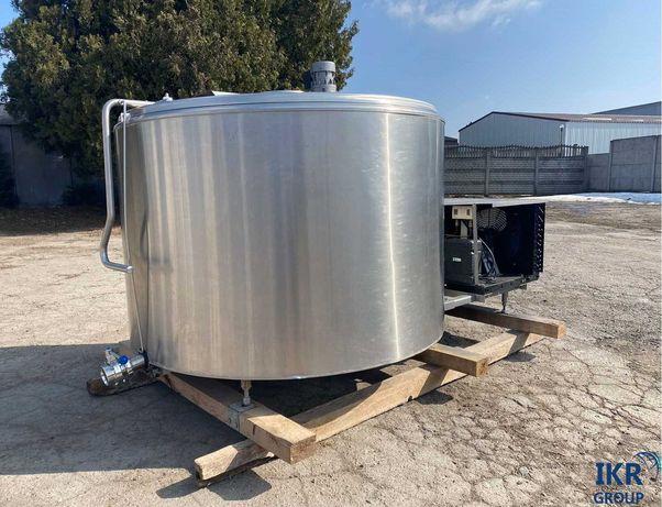 Охладитель молока (бочка) на 1000 литров БУ на складе в Ровно с НДС