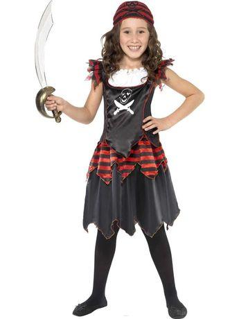 Детский костюм пирата для девочек на хэллоуин halloween 10-11-12 лет