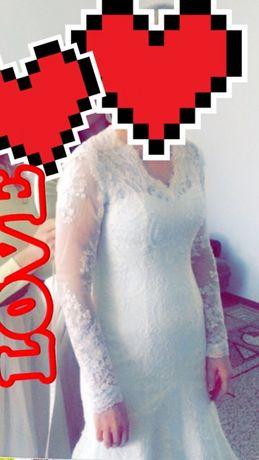 Чарівна весільня сукня