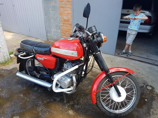 Мотоцикл. ЯВА 638. 12V. 1987.