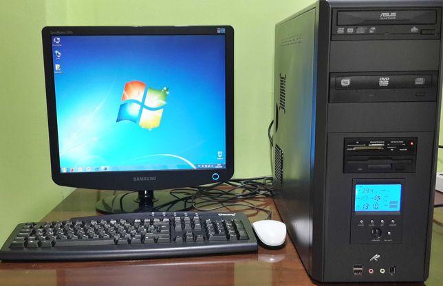 "Компьютер в сборе, монитор 19"" Samsung Wi-Fi, интернет, офис 6000 р"