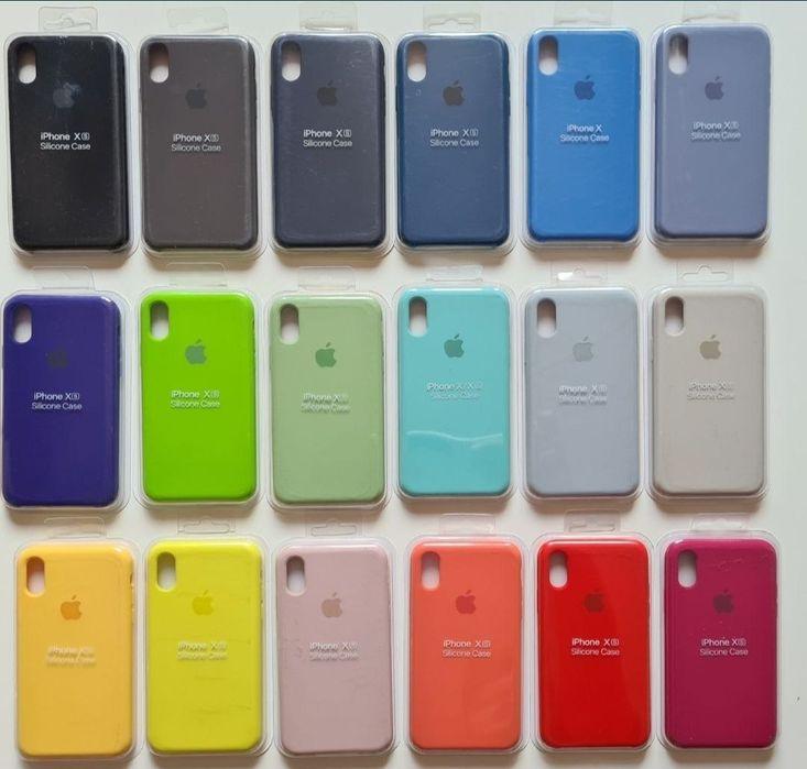 Etui Apple IPhone Silicone case 6 7 8 plus X Xs Max XR S R 5 5s SE Bełchatów - image 1
