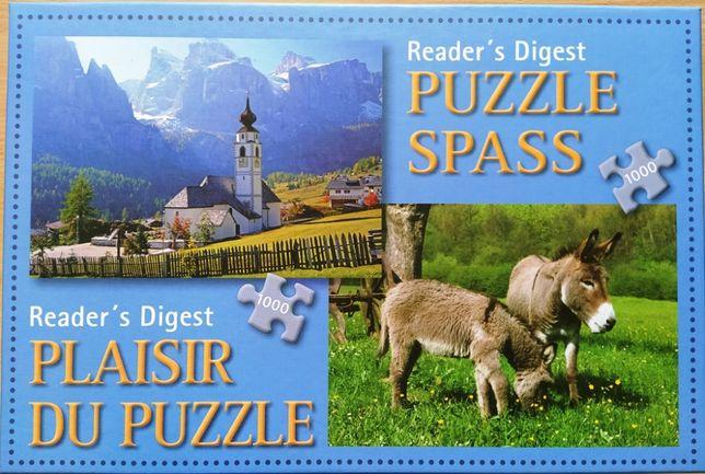 Reader's Digest Puzzle - 2 plansze 1000 elementów