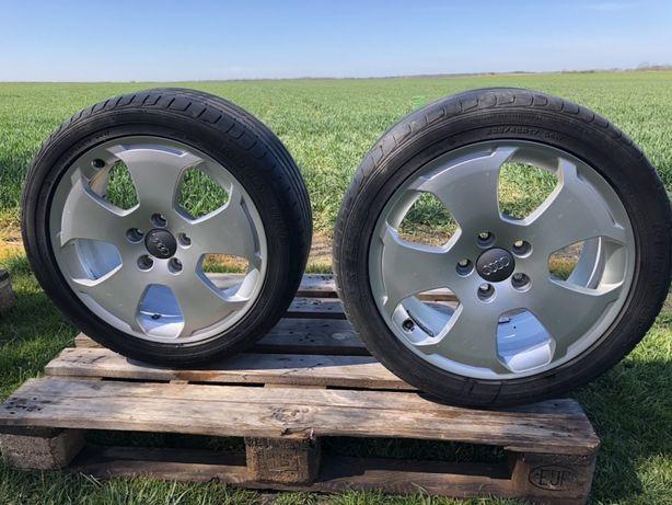 """Felgi AUDI SKODA SEAT VW 17"""" 5x112 Z Oponami"""