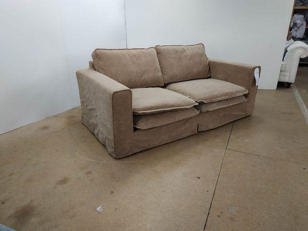 Sofa NORA, kolor BEŻ,tkanina łatwa w czyszczeniu! DARMOWA DOSTAWA!