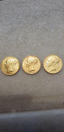 Libras ouro Brasão