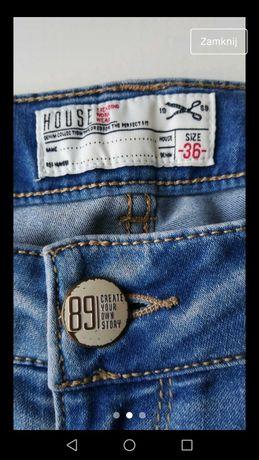 Spodnie damskie jeansowe S House
