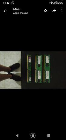 MEMORIAS RAM 2 500 MB E 1 de 1 GB ddr2