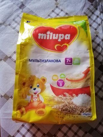 Безмолочна каша мілупа milupa мультизлакова дитяче харчування
