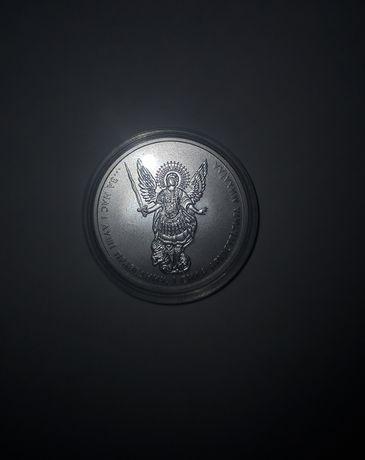 Инвестиционная монета 1 гривня 2018 серебро Архистратиг Михаил