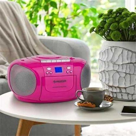 Бумбокс радио радіо Auna BoomGirl 10031427 CD MP3 плеер