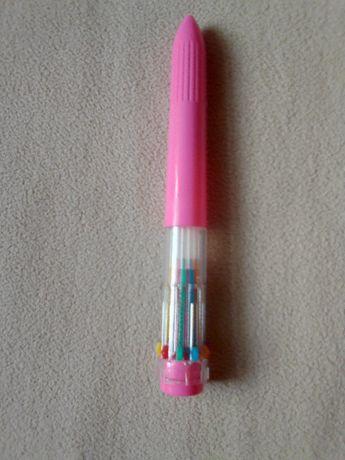 Długopis na 10 wkładów, 10 kolorowy wszystkie piszą dla kolekcjonera