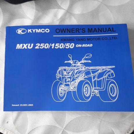 Książka instrukcja  Kymco  MXU/250/150/50