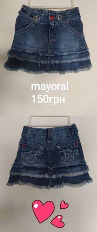Джинсова спідниця юбка mayoral